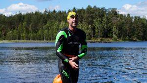Тренеровка на оз.Пасторское - Европейский клуб по обучению плаванию «Мэвис»