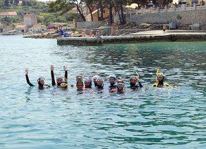 ХОРВАТИЯ 2008 ГОД — ПОЛУОСТРОВ ПЕЛЕШАЦ - Европейский клуб по обучению плаванию «Мэвис»