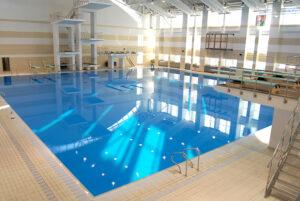 Прыжковый бассейн БГУФК